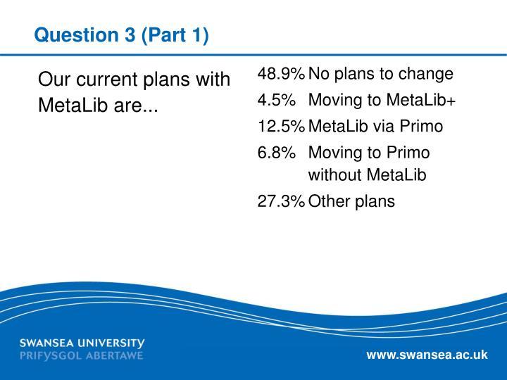 Question 3 (Part 1)