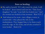 sozo as healing
