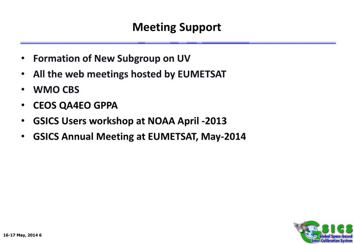 Meeting Support