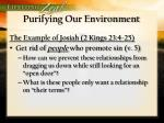 purifying our environment1