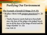 purifying our environment4