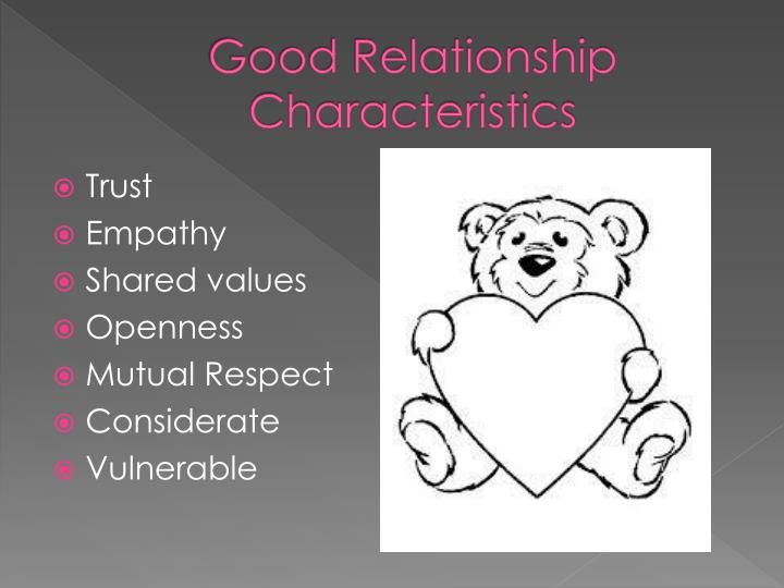characteristics of a successful relationship
