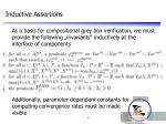 inductive assertions
