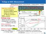 voltage at asic measurement