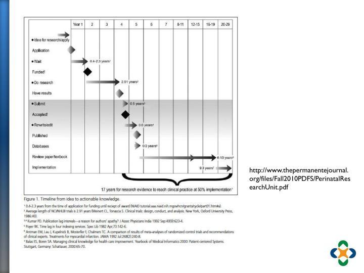 http://www.thepermanentejournal.org/files/Fall2010PDFS/PerinatalResearchUnit.pdf