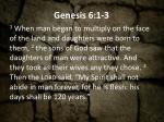 genesis 6 1 3