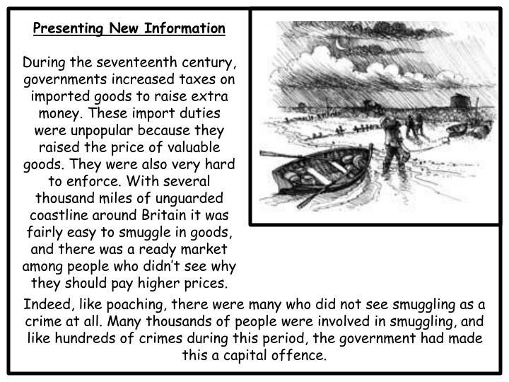 Presenting New Information