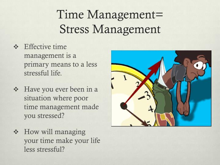 Time Management=