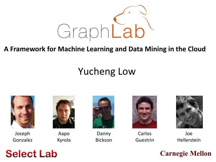 A Framework for Machine Learning and Data Mining in the Cloud