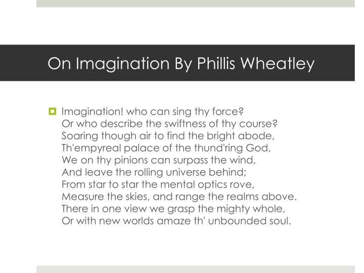 On Imagination By