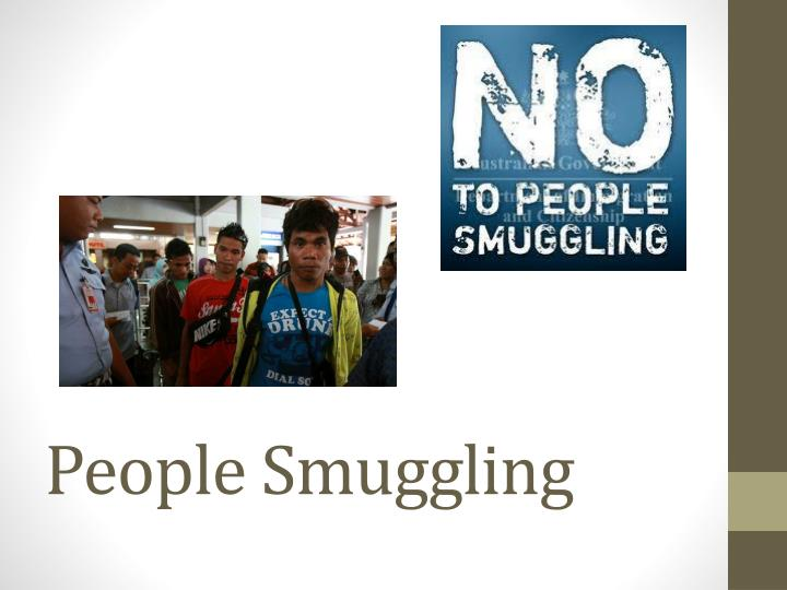 People smuggling