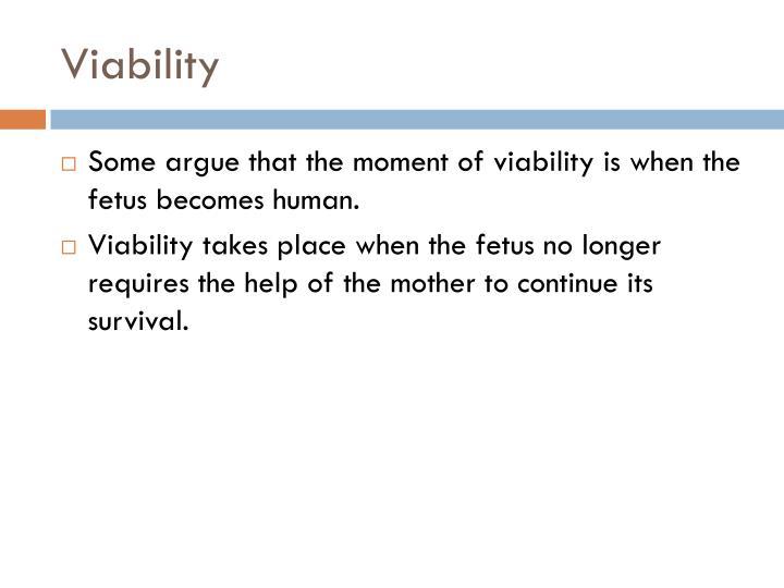 Viability