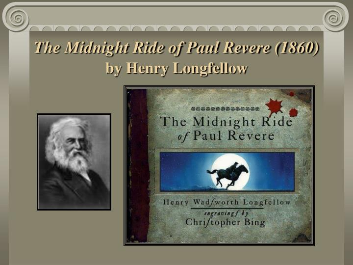 The Midnight Ride of Paul Revere (1860)