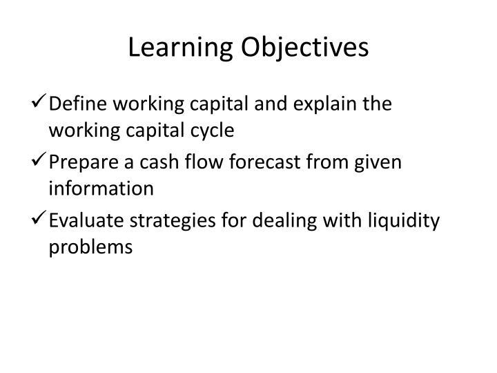 define working capital