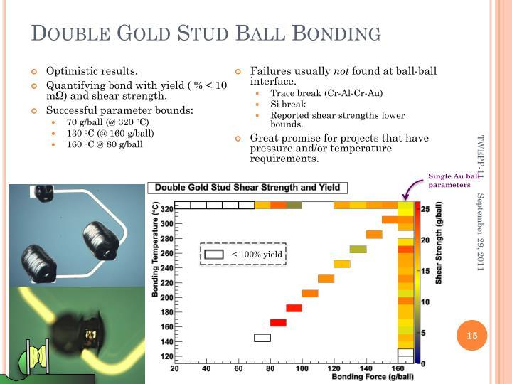 Double Gold Stud Ball Bonding