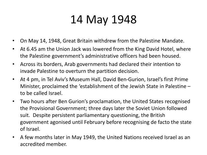 14 May 1948