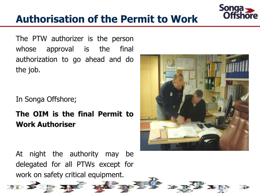 PPT - Corporate Permit to Work System - Songa Offshore