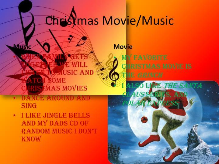 Christmas Movie/Music