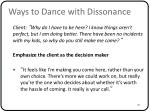 ways to dance with dissonance3