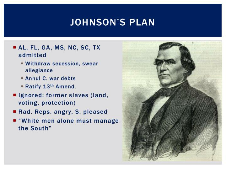 Johnson's Plan