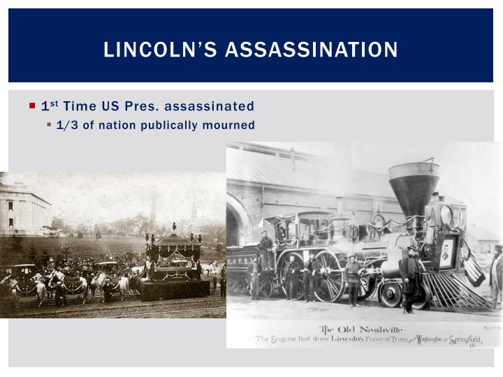 Lincoln s assassination1