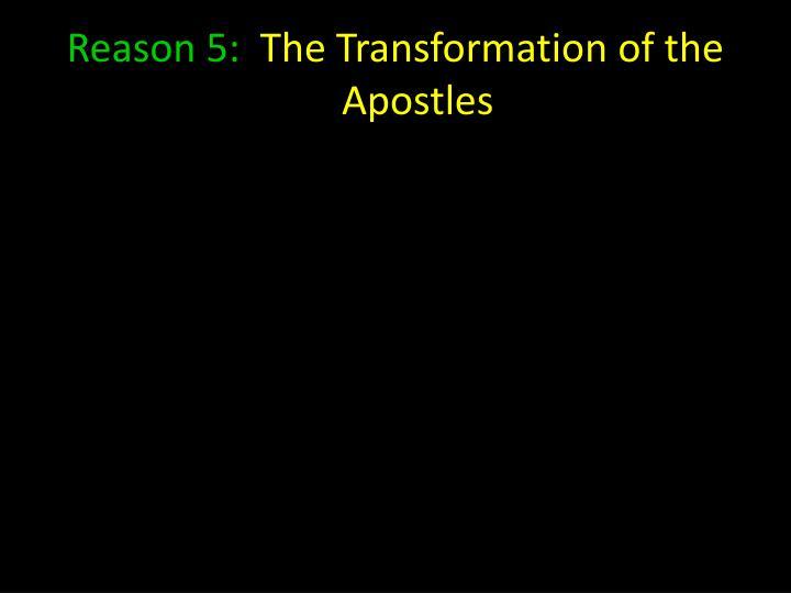Reason 5: