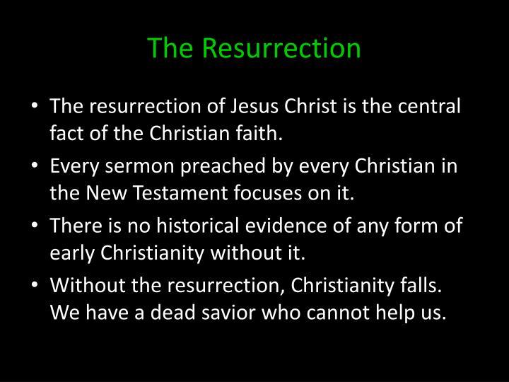 The resurrection1