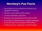 hershey s fun facts