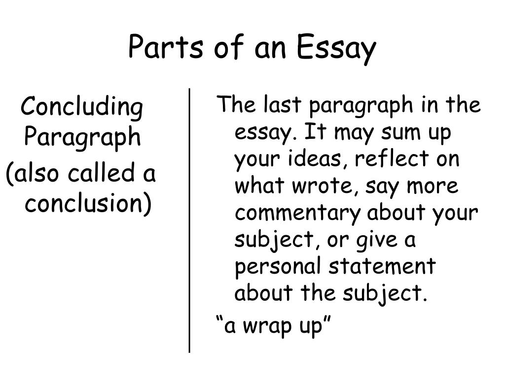 Dead Poet Society Essay  4 Types Of Essays also Compare Two Teachers Essay Ppt  Parts Of An Essay Powerpoint Presentation  Id 5 Paragraph Essay Format Outline