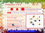 wednesday 2 8 12 day 113