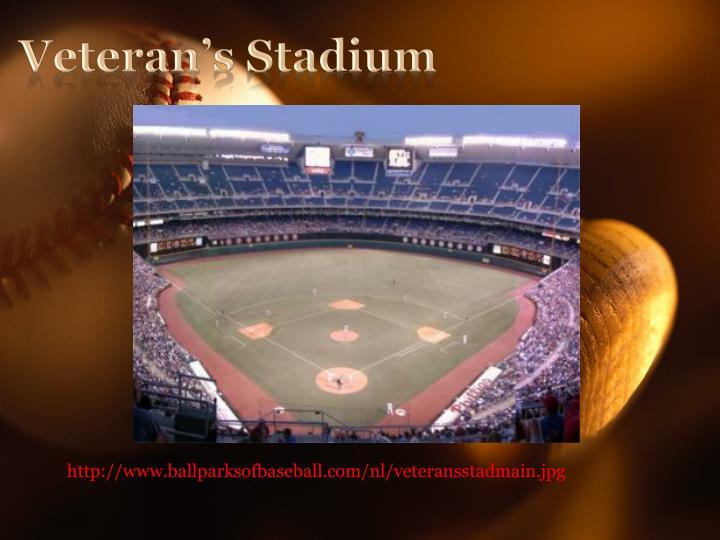 Veteran's Stadium