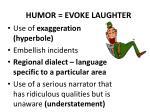 humor evoke laughter