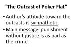 the outcast of poker flat