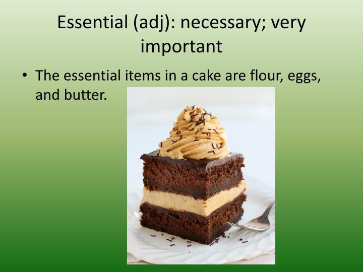 Essential (
