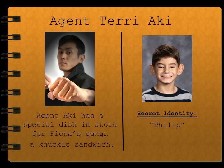 Agent Terri Aki
