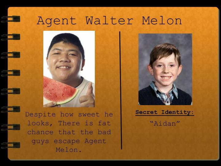 Agent Walter Melon