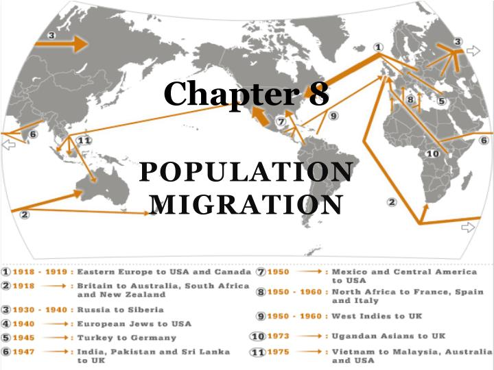 population and migration Migration and migrant population statistics: tables and figures data sources emigration is particularly difficult to measure it is harder to count people leaving a country than those arriving.