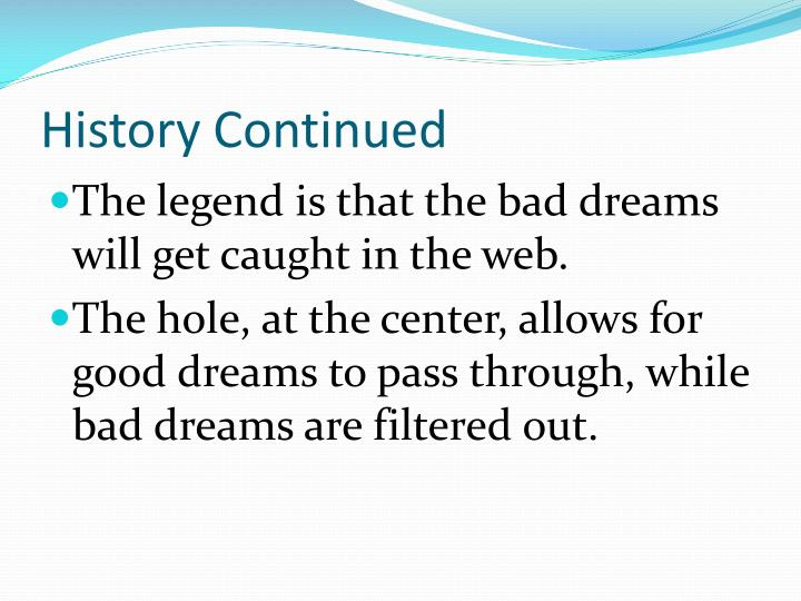 History Of Dream Catchers Beauteous PPT Native American Dream Catchers PowerPoint Presentation ID