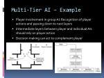 multi tier ai example1