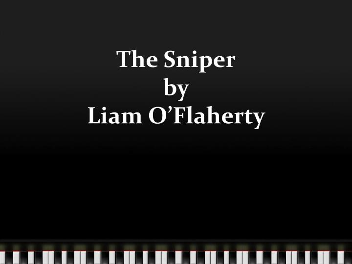 the sniper by liam o flaherty n.
