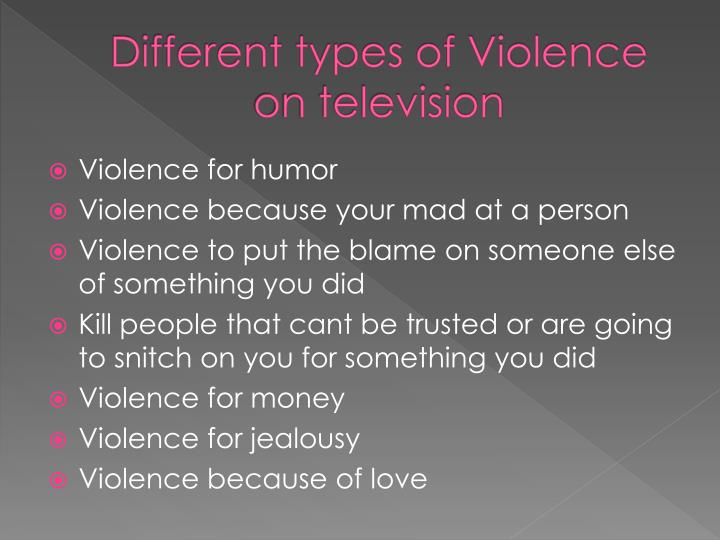 an introduction to the history of violence on television The television itself has changed an unbelievable amount since it was first invented seen below is a picture of what an early television in any american however similar the early television this modern day television is not something is common in every household the television itself has become a.