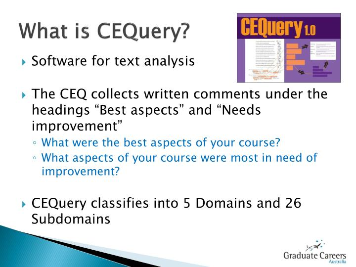 What is cequery