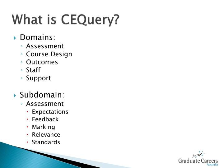 What is CEQuery?
