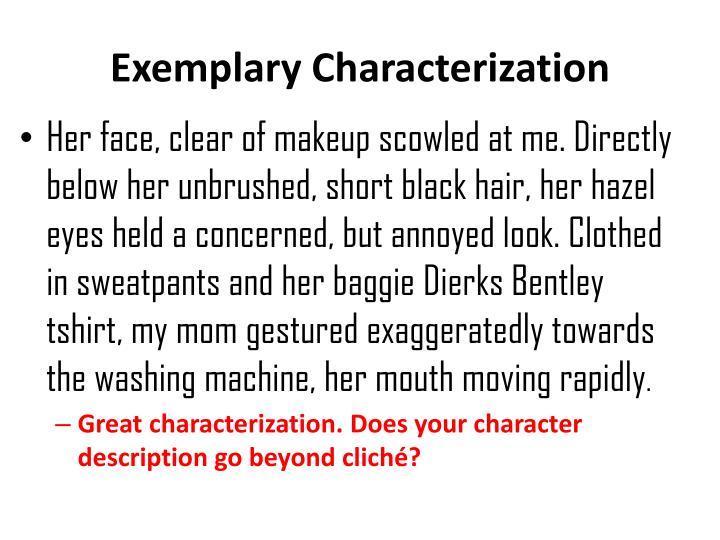 Exemplary characterization