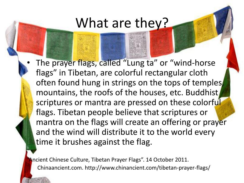 PPT - Tibetan Prayer Flags PowerPoint Presentation - ID:1970701