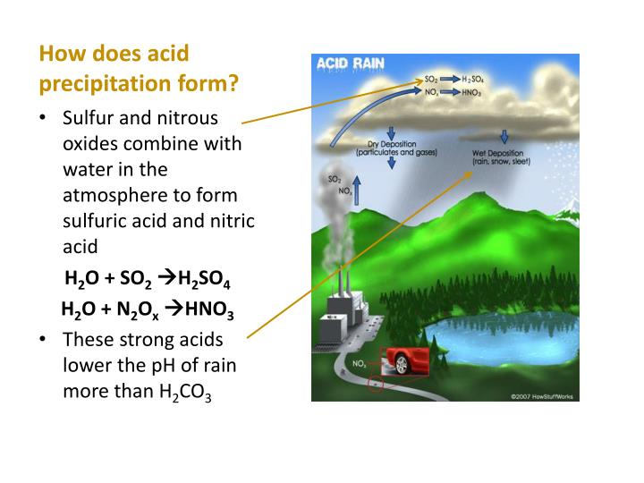 ppt - acid rain powerpoint presentation - id:1970790