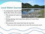 local water sources1