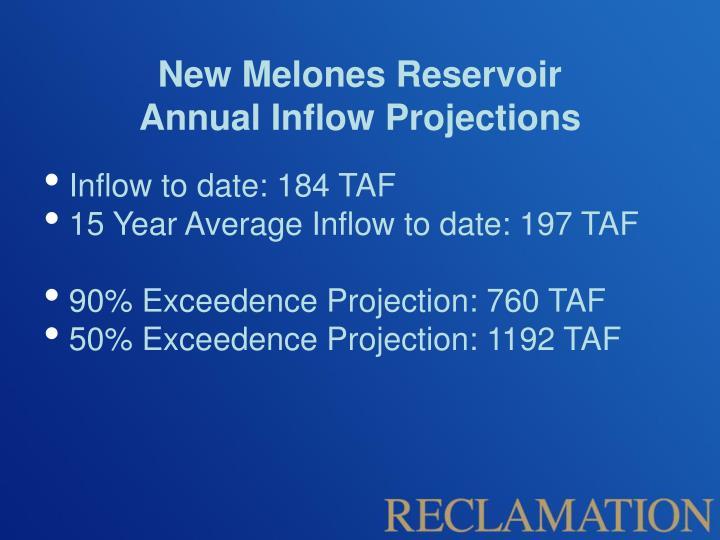 New Melones Reservoir