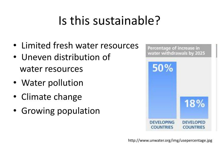 Is this sustainable?