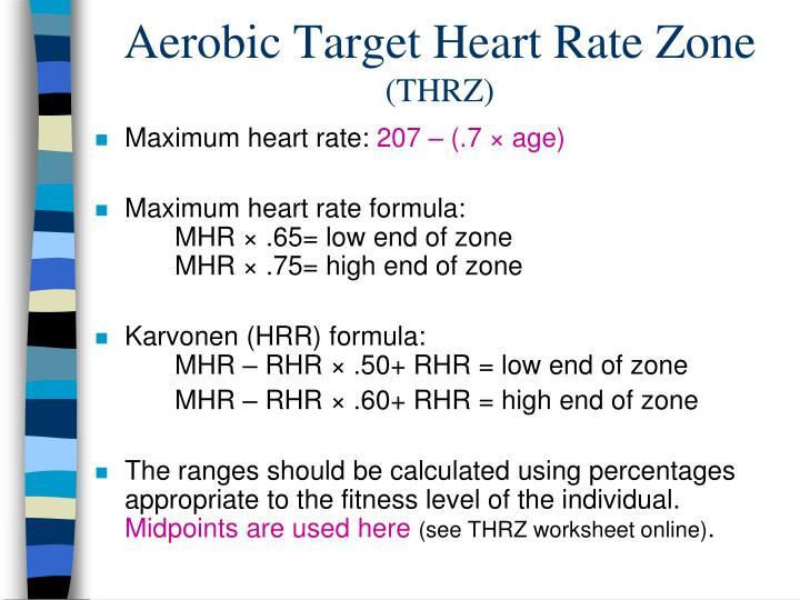 Ppt Aerobic Fitness Powerpoint Presentation Id1971048